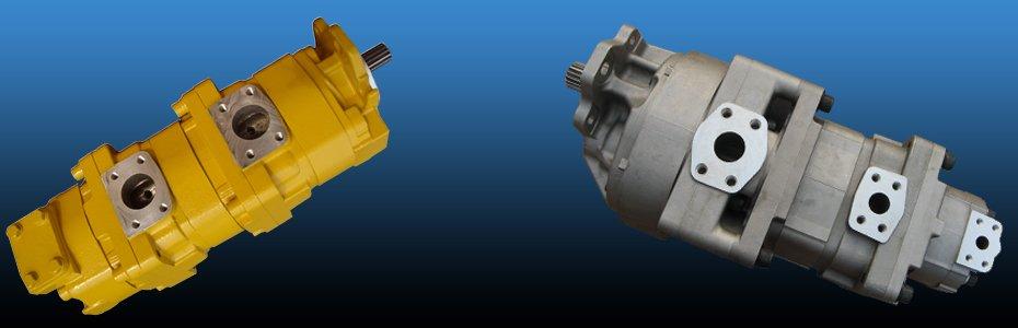komatsu hydraulic gear pump